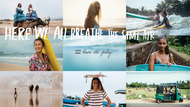 Billabong Unites Females Across the Globe Through Surfing In A Progressive New Brand Campaign