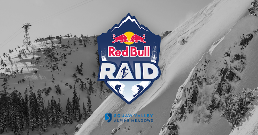 """New """"Red Bull Raid"""" Competition Coming to Squaw Valley's Silverado Area on April 13"""