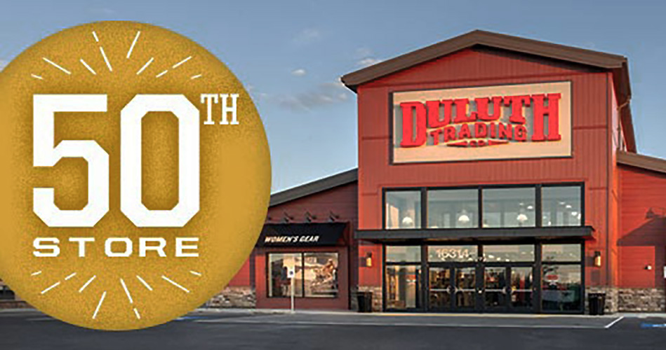 Duluth Trading Opens 50th Store | SGB Media Online