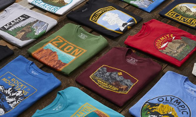 Columbia Sportswear Supports The National Park Foundation's Open Outdoors For Kids Initiative With LTD Edition National Parks T-Shirts