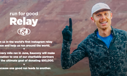 "Saucony Launches New Global Brand Platform: ""Run for Good"""