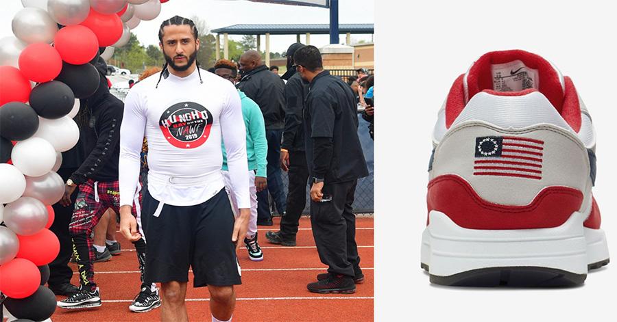 Nike Cancels 'Betsy Ross Flag' Sneaker After Colin Kaepernick Expresses Concerns