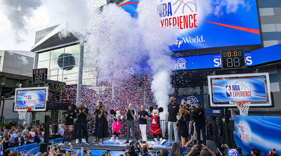 NBA Experience Opens At Walt Disney World Resort
