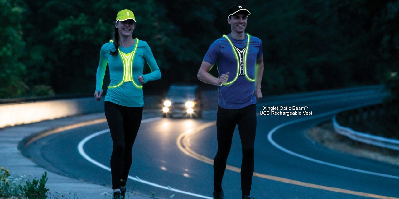 Amphipod Launches New Ultralight USB Rechargeable Fiber Optic Visibility Vest