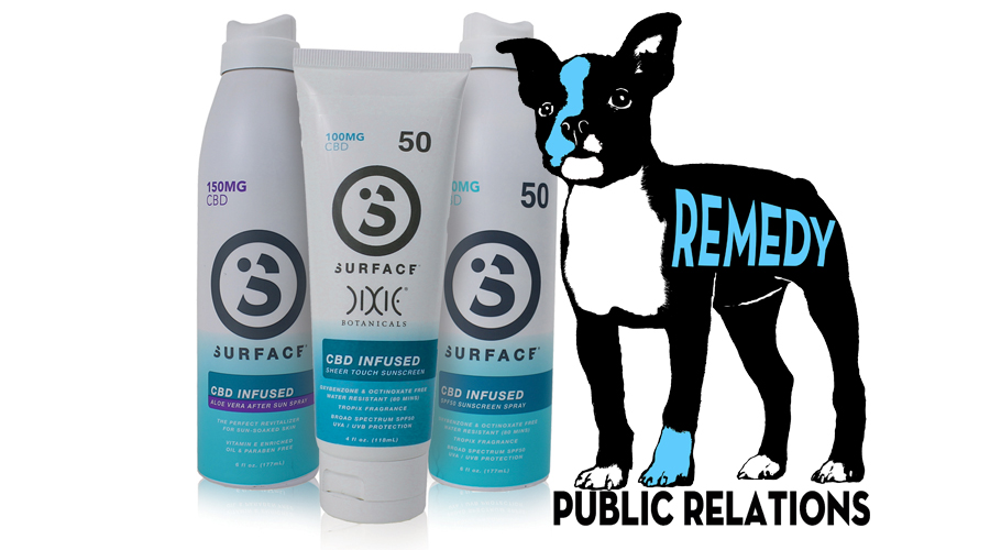 Surface Chooses Remedy PR To Support CBD Sunscreen Launch