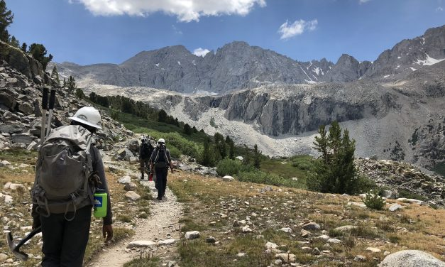 Eastern Sierra Conservation Corps Awarded 2019 The North Face Explore Fund Grant
