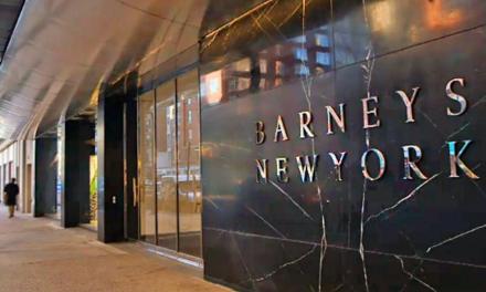 Barneys Files for Bankruptcy, Seeks Buyer