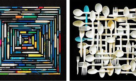Throw-Away Plastic Through The Artist's Lens