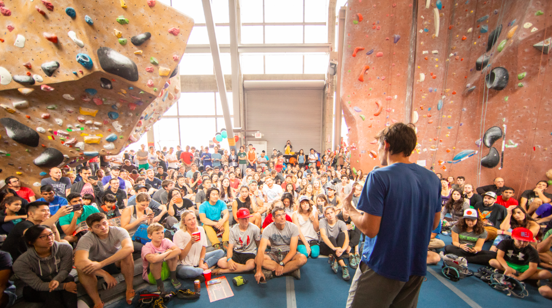 North Face Survey Finds Growing Interest In Rock Climbing