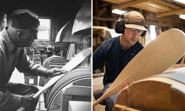 Shaw & Tenney … The Oldest Maker Of Paddles & Oars In The World