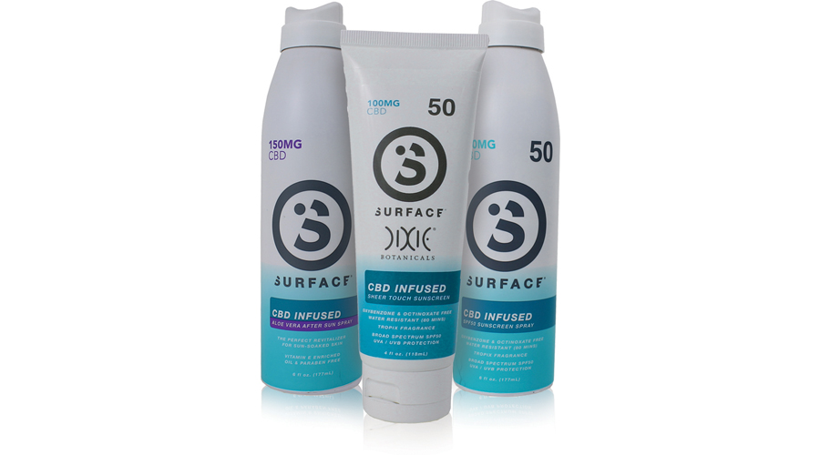 Surface Sunscreen Continues To Innovate  By Making CBD-Infused Suncare Products Available Online