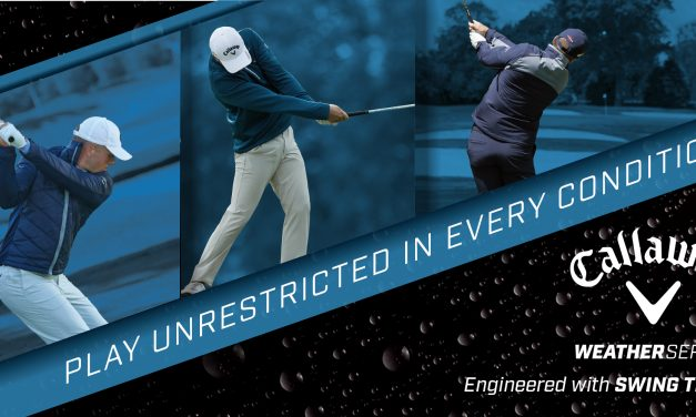 "Callaway Apparel Launches 2019 Weather Series  ""Play Unrestricted In Every Condition"""