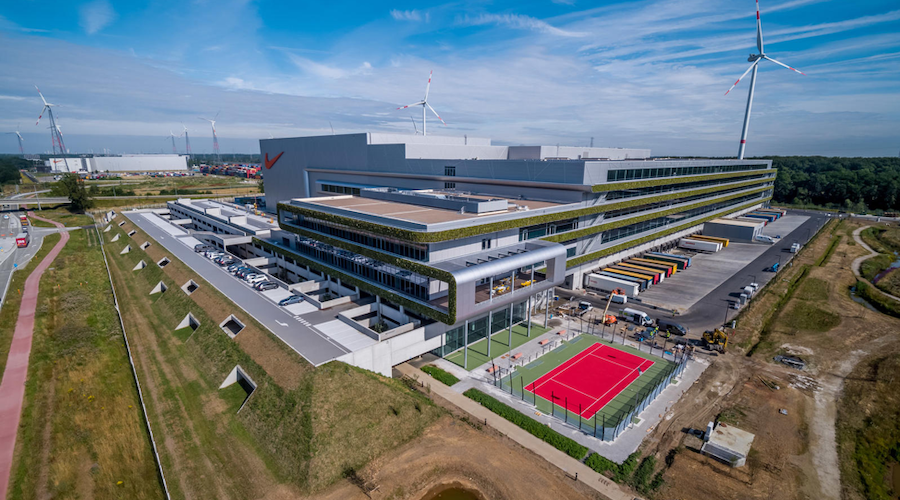 Nike Opens European Logistics Campus Powered By Renewable Energy