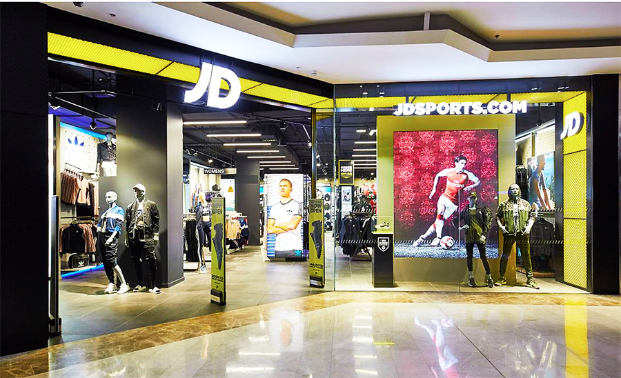 Finish Line Making Progress For JD Sports