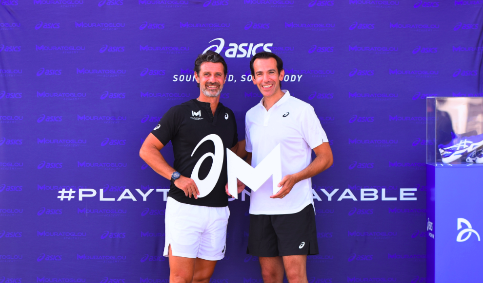 Asics Partners With The Mouratoglou Academy