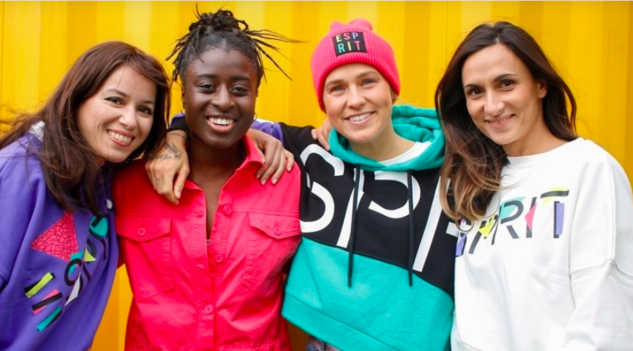 Esprit Signs Up To Become UEFA Women's Football Partner
