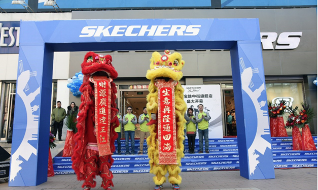 International Sales Fueling Skechers' Growth