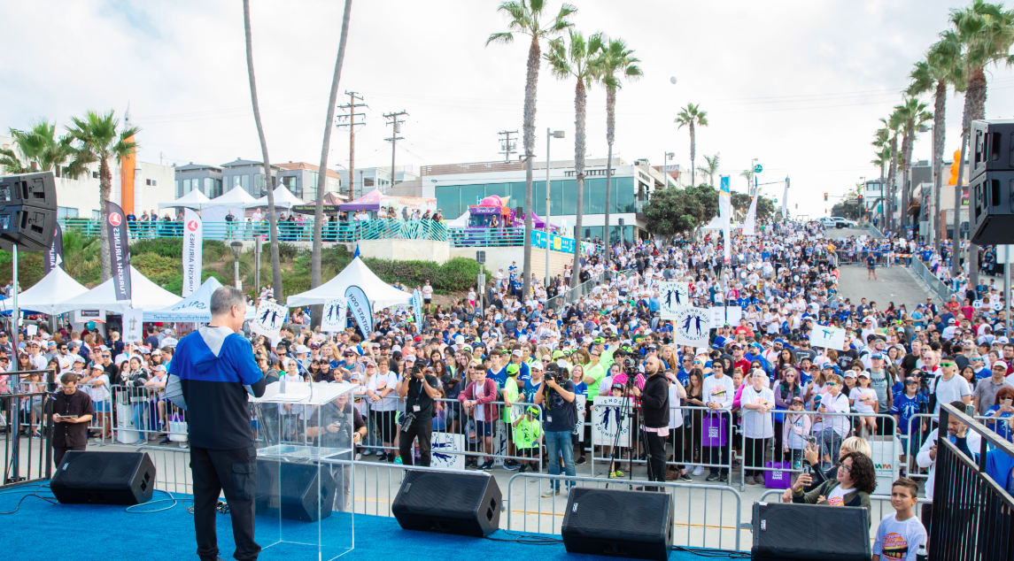 Record-breaking $2.2 Million Raised At 11th Annual Skechers Pier to Pier Friendship Walk