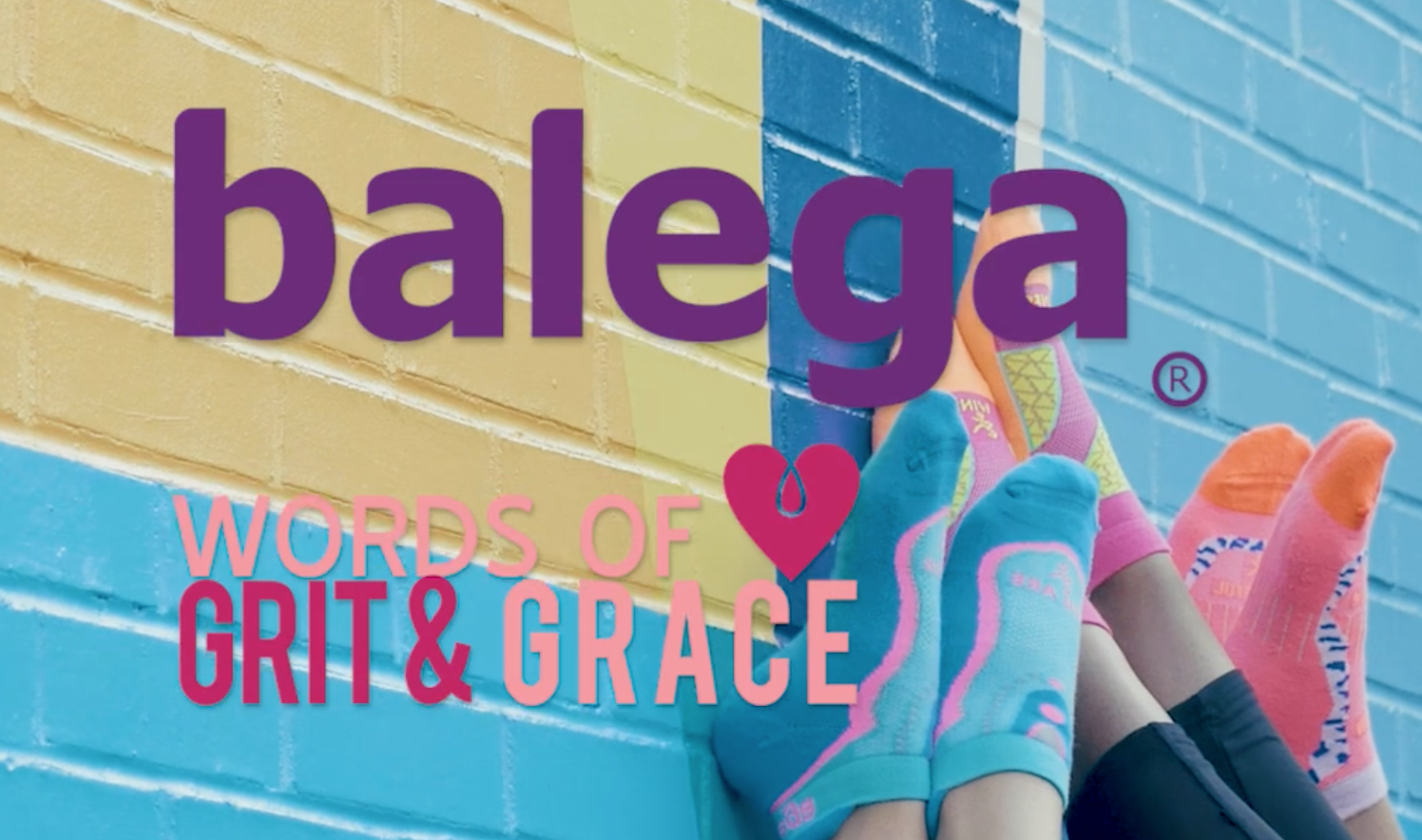 In Association With Breast Cancer Prevention Partners Balega Womens Grit and Grace No Show Running Socks