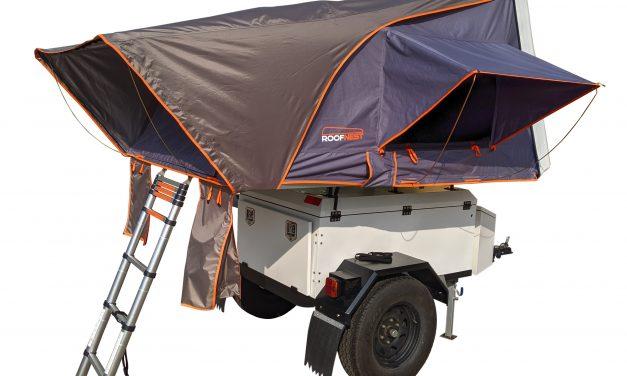 Roofnest Condor Redefines Hard Shell Rooftop Tent Segment