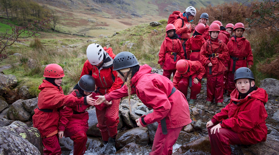 Equip Proud To Sponsor Their First Outward Bound Trust Residential With Harris Primary School, Preston
