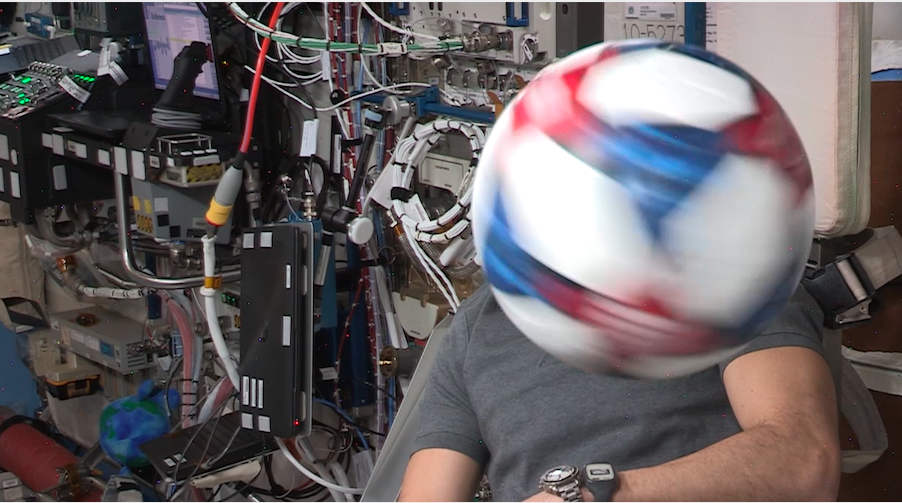 Adidas Partners With International Space Station