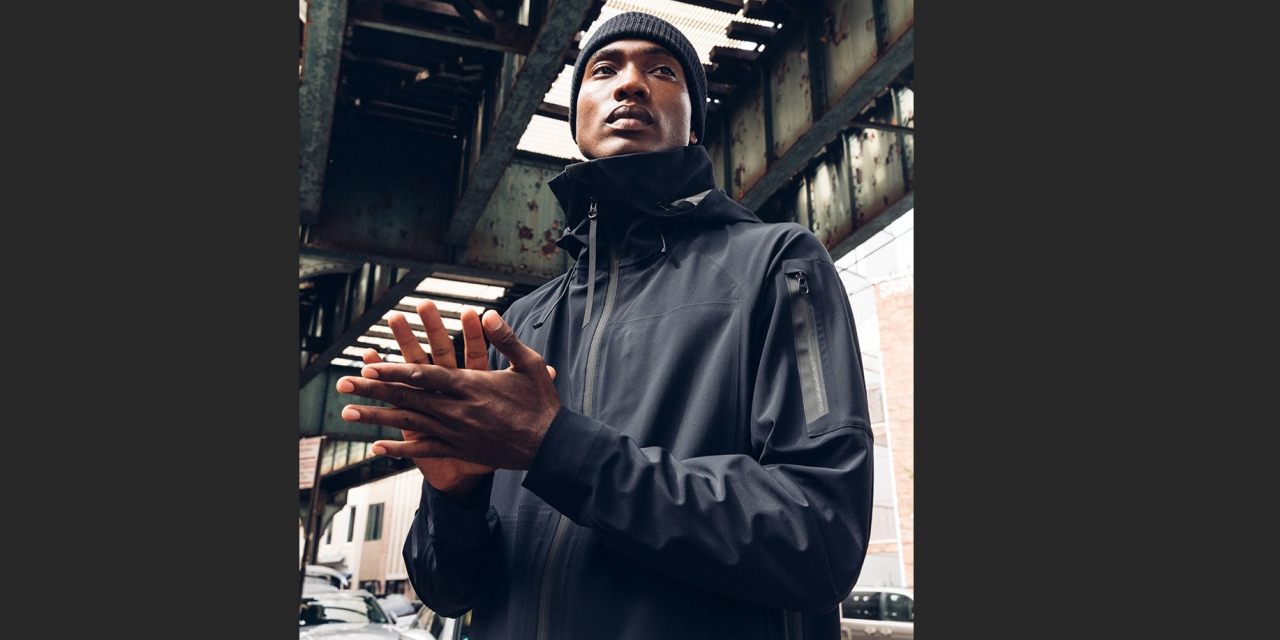 Material Innovation … Outlier's Experiment 200 Ecstasy In The Rain Jacket