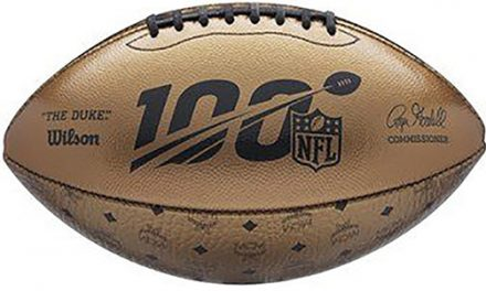 Wilson Sporting Goods, MCM Worldwide And The NFL Create Super Bowl Football