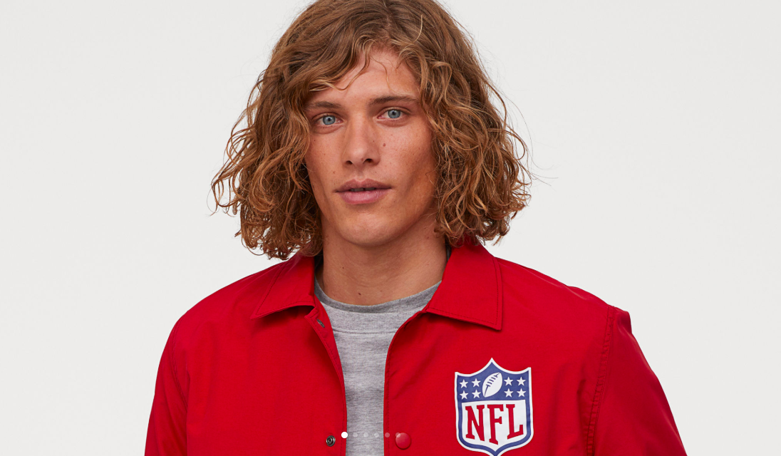 NFL Enters Global Apparel Collaboration With H&M