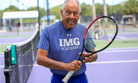 Slinger Bag Partners With Tennis Coaching Icon Nick Bollettieri