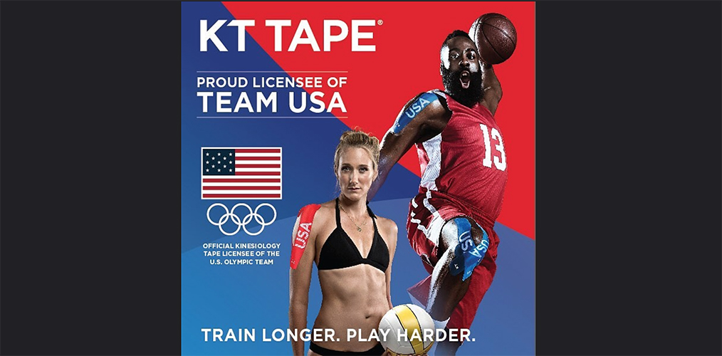 KT Tape Continues Sponsorship Of Team USA