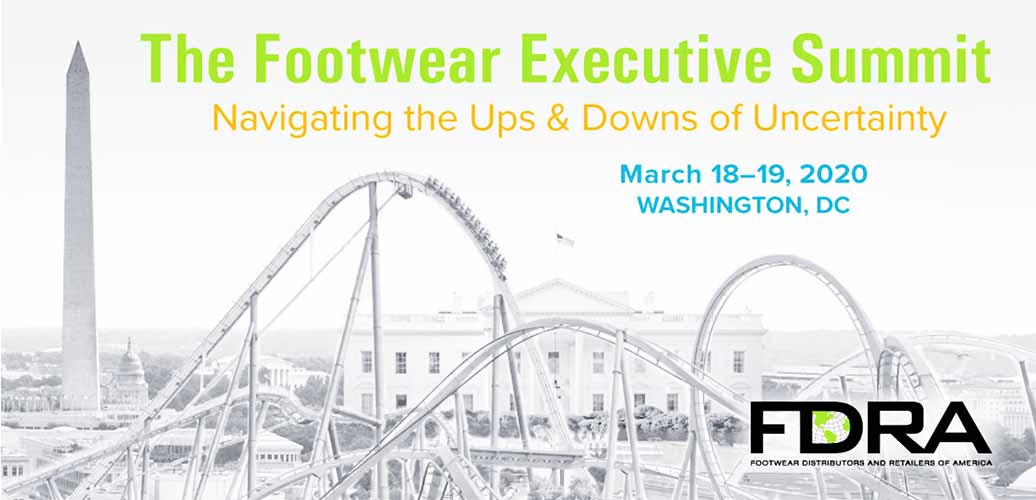 FDRA's 2020 Footwear Executive Summit Set For March