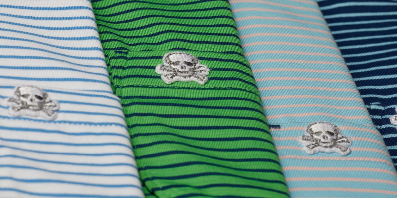 Stitch Golf Introduces Bonesman Polos Dare To Be Dangerous