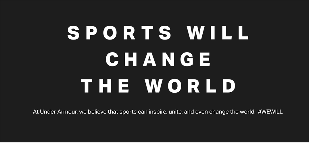 Under Armour Pledges Up To $2M For Community Support