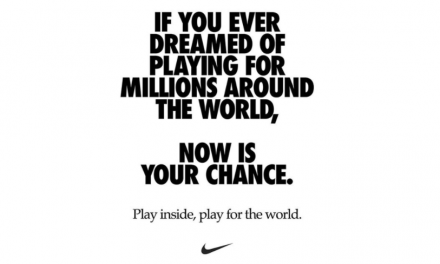 Nike Promotes Social Distancing In Ad To Promote Workout App