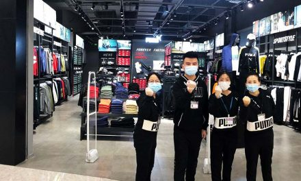 Puma Reopens First Location In Wuhan, China