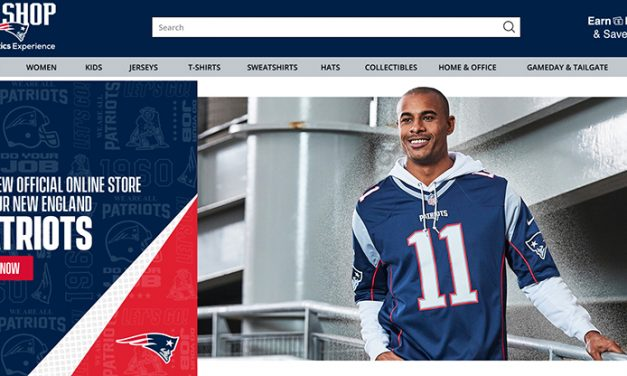 Fanatics Partners With New England Patriots