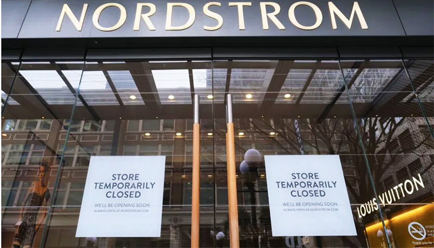 "Nordstrom Warns Coronavirus May Lead to ""Distressed"" Financial Condition"