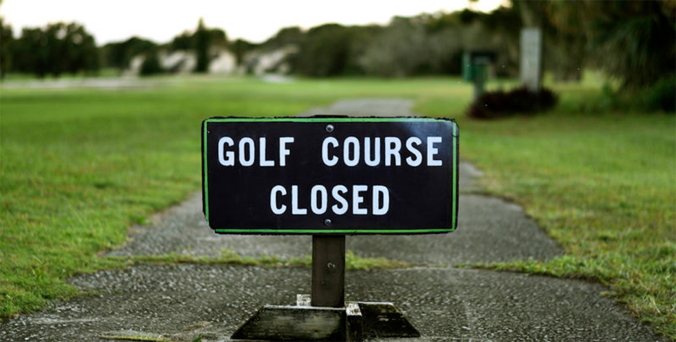 Less than Half Of U.S. Golf Courses Remain Open