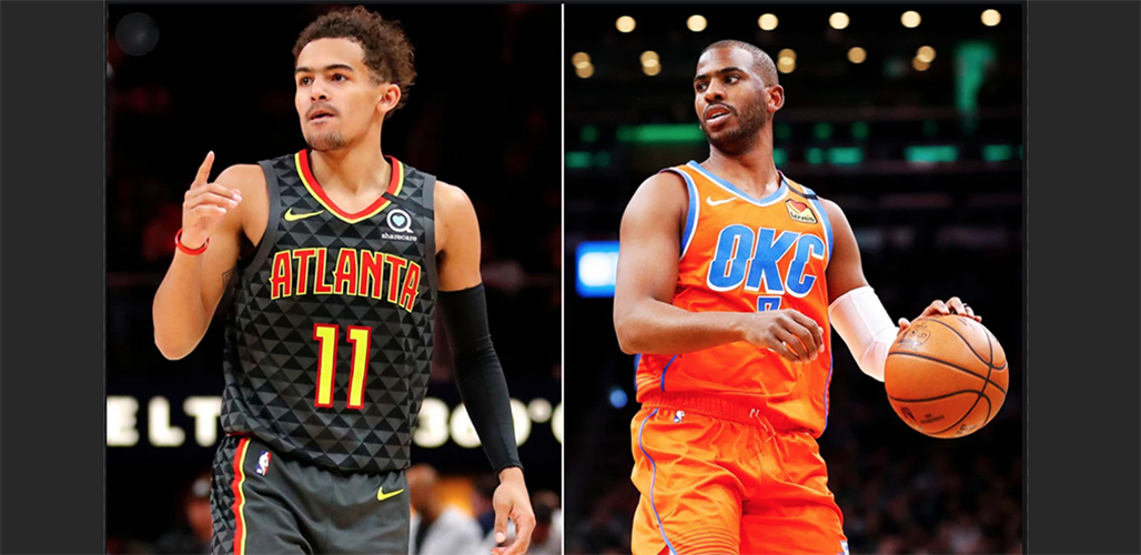 Chris Paul And Trae Young Headline First-Ever NBA HORSE Challenge
