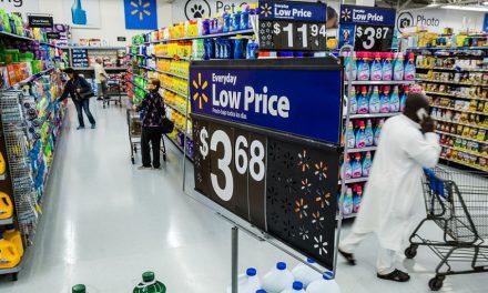 Walmart U.S. Q1 Same-Store Sales Climb 10 Percent