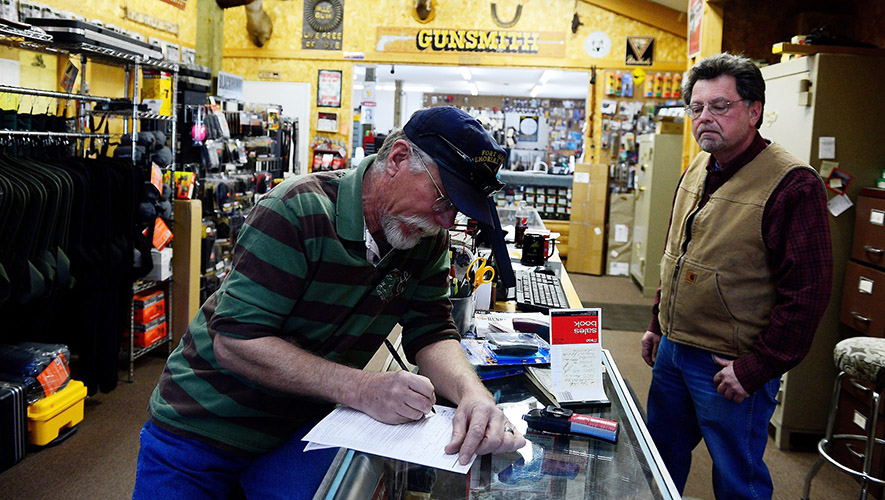 Firearms Background Checks Surge Again In April
