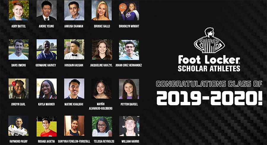 Foot Locker Supports Student Scholarships