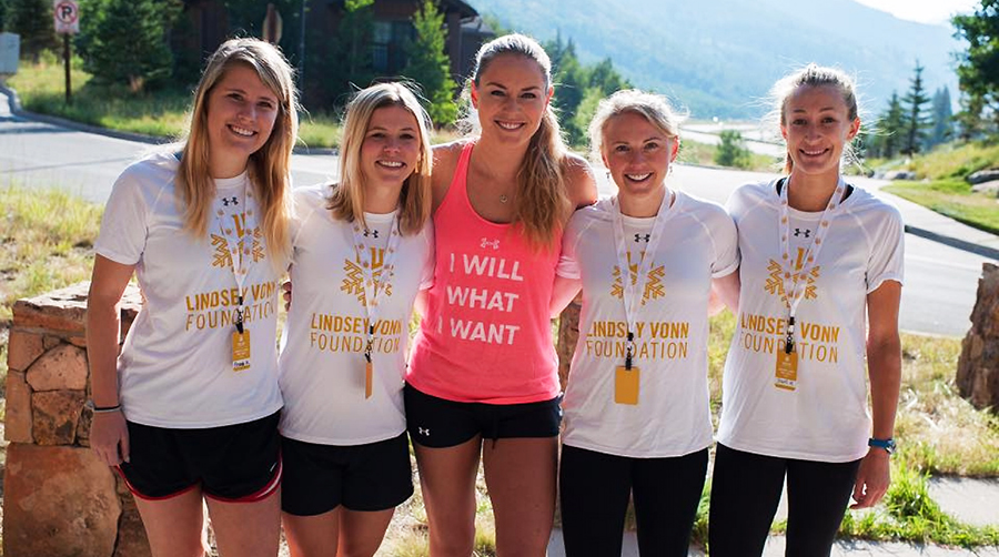 Dick's Partners With Lindsey Vonn On Summer Scholarships