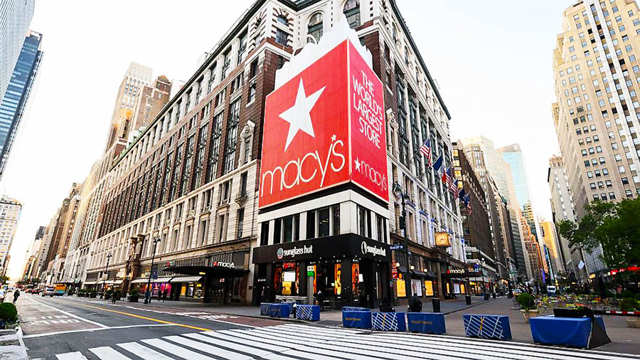 Macy's Seeing Strong Reopenings