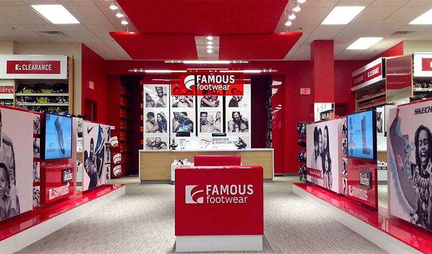 Famous Footwear S Open
