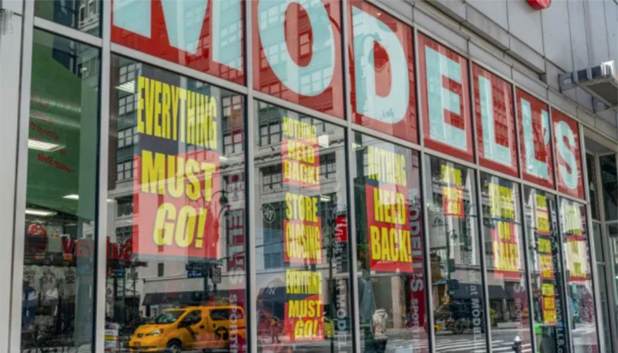 GOB Sale Resumes At 107 Modell's Locations