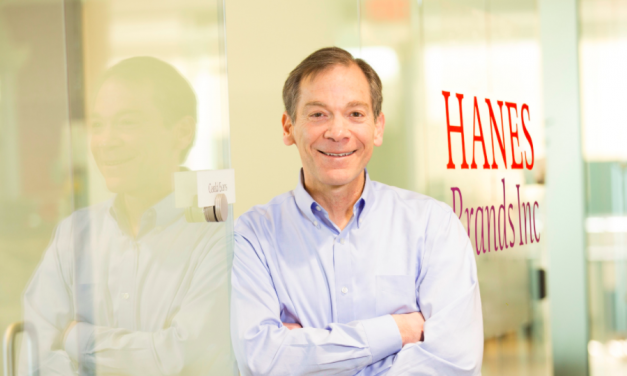HanesBrands Gerald Evans Recognized As 2020 Most Admired CEO