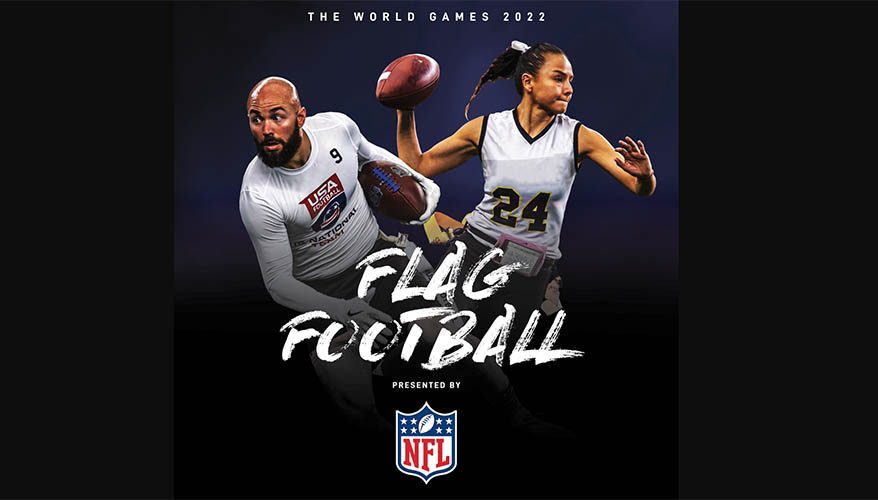 The World Games 2022 Birmingham Partners With NFL, Adds Flag Football