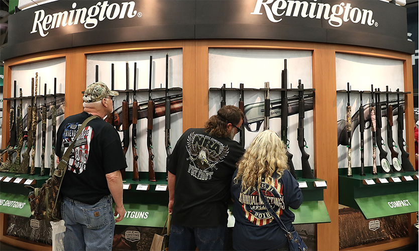 Remington Arms Files Again For Bankruptcy Protection